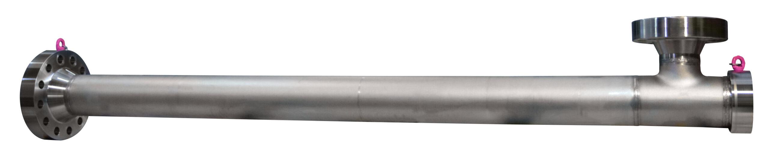 Transvac size 8 Liquid Jet Compressor for Aramco Materials: Duplex (UNS S31803) with Ceramic Internals