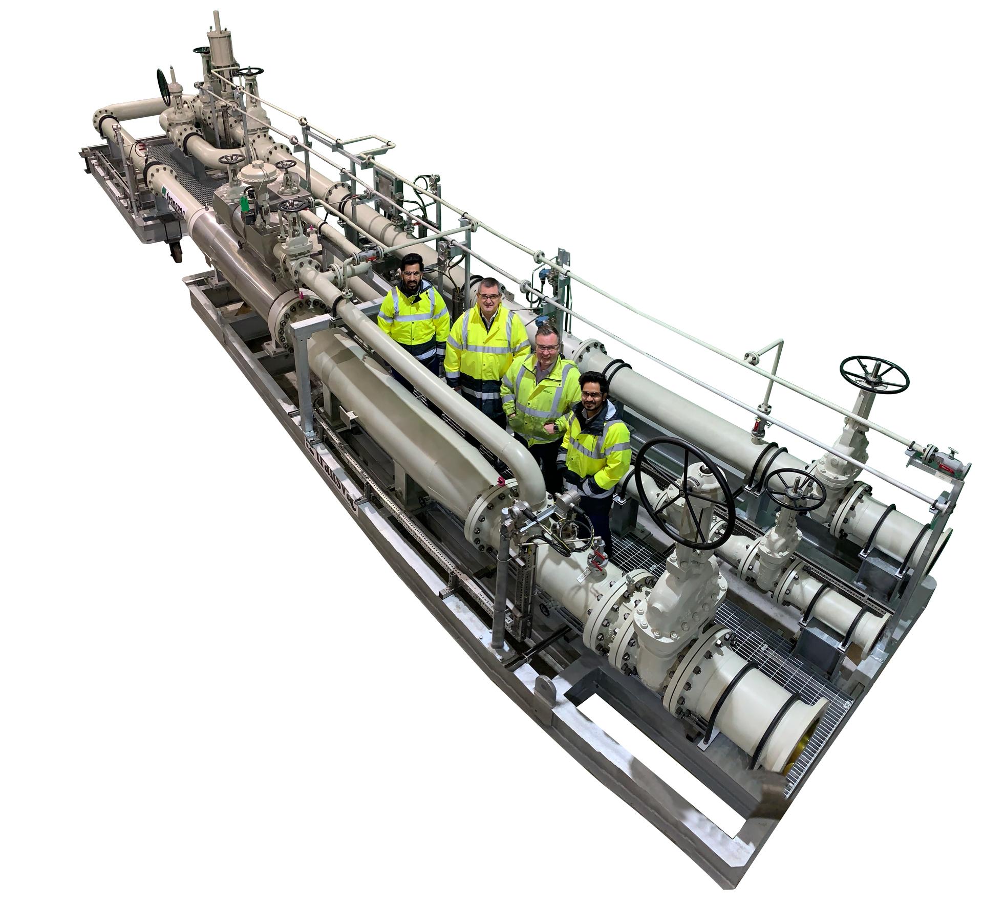 Gas Compression Ejector Skid