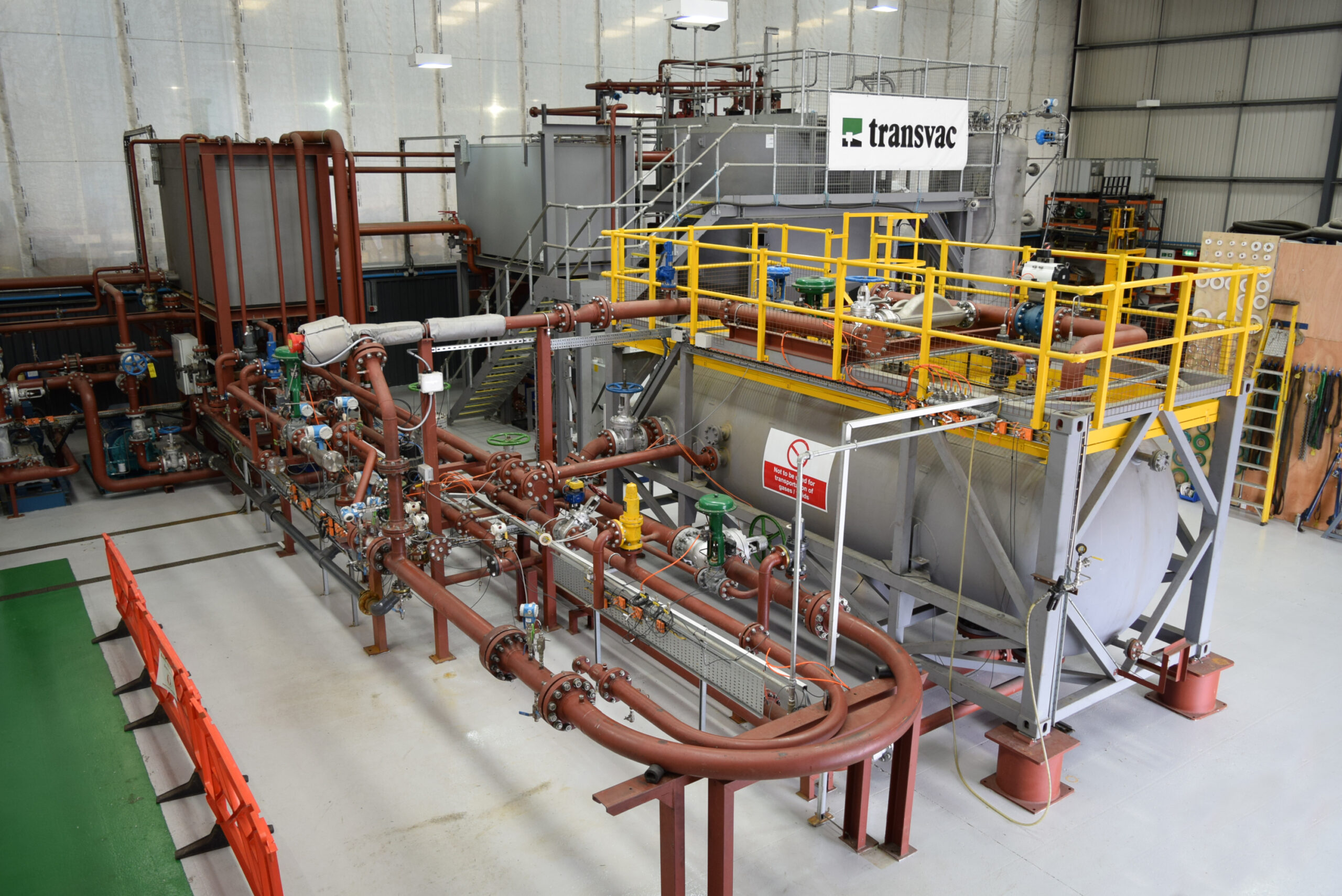 Transvac's Ejector Test Facility